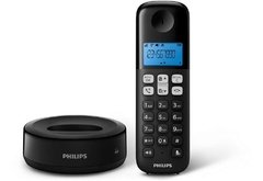 Telefono Inalambrico Philips D1311b/77 Black