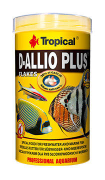 Ração D-ALLIO PLUS Granulat 60g Tropical