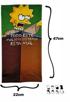 Cuellos de Lycra - Lisa Simpsons en internet