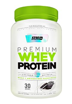 PREMIUM WHEY PROTEINA COOKIES & CREAM X 1 KGRS -  STAR NUTRITION