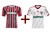 Kit com 2 Camisas do Fluminense Infantil Adidas - Kit 2