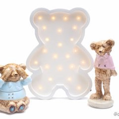 Luminoso led urso - comprar online