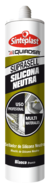 Sellador de Silicona Neutra Blanco 280 Ml