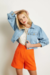 JAQUETA JEANS CROPPED PUFF na internet