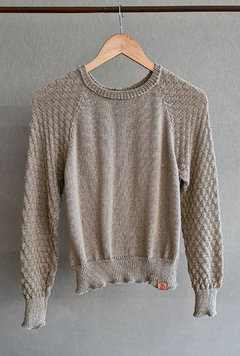SWEATER ABRAZA NATURAL