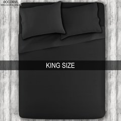 Black Sheet Set, King