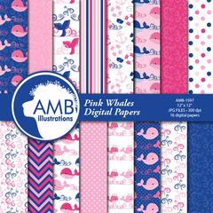 AMB - PINK WHALE PAPERS 1