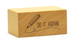 Sello Maestras ing Do It Again - comprar online