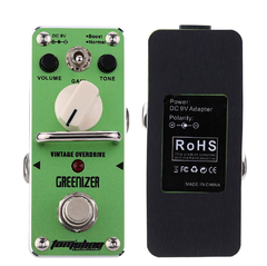 Pedal P/ Guitarra Tomsline Greenizer AGR-3 Overdrive - PD1004 - PH MUSIC STORE