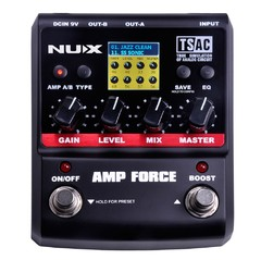 Pedal NUX Simulador Amp Force - PD0724