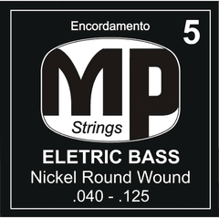 Encordoamento P/ Baixo MP Strings 5 Cordas 040-125 - EC0290
