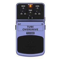Pedal Behringer TO100 Tube Overdrive - PD0740