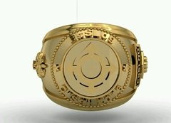 Ring Communications of the School of Logistics sergeants in 18k gold - buy online