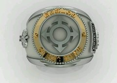 Ring communications from the School of Logistics sergeants in silver with 18k gold - buy online