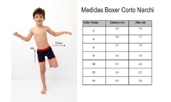 BOXER CORTO DANTE - COLLECTION NARCHI - comprar online