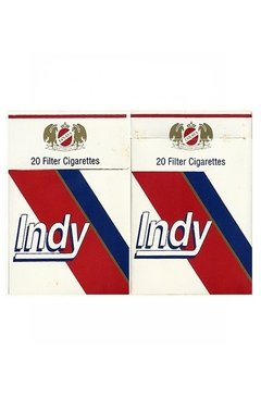 BOX VAZIO INDY FILTER CIGARETTES MADE BY TANASA PARAGUAY - comprar online