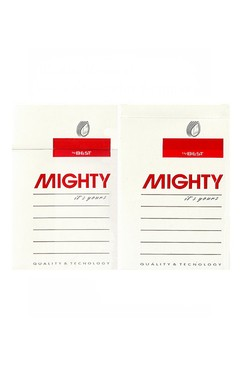 BOX VAZIO MIGHTY IT'S YOURS BEST TOBACCO INC PARAGUAY