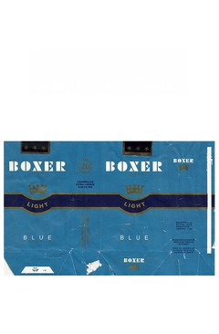 MAÇO BOXER LIGHT BLUE AMERICAN BLEND MADE IN PY PARAGUAY