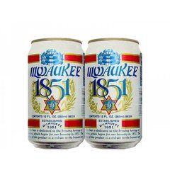 LATA MILWAUKEE 1851 BEER 355 ML ALUMÍNIO USA