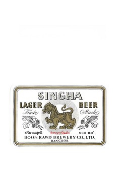 ROTULO SINGHA LAGER BEER 630 ML THAILAND