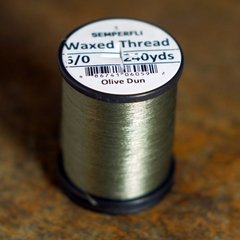 Hilo encerado 6/0 Semperfli Waxed Thread 240 yardas