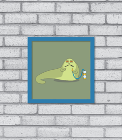 Quadro Cute Jabba the Hutt