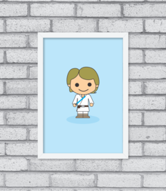 Quadro Cute Luke Skywalker