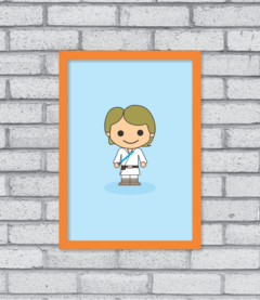 Quadro Cute Luke Skywalker - [pendurama]