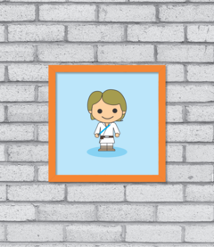 Quadro Cute Luke Skywalker na internet