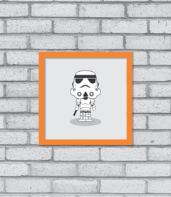 Quadro Cute Stormtrooper na internet