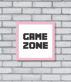 Quadro Game Zone - [pendurama]