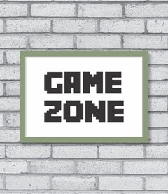 Quadro Game Zone