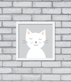 Quadro Night-Night, Kitty - comprar online