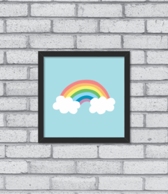 Quadro Cute Rainbow na internet