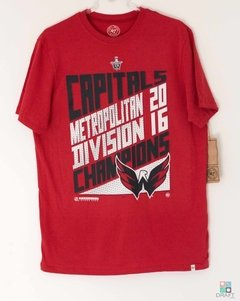 Camisa NHL Washington Capitals 47 Brand Division Champs T-Shirt