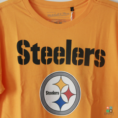 Camisa NFL Pittsburgh Steelers Mitchell & Ness - Amarela Draft Store
