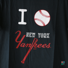Camisa MLB New York Yankees New Era Azul-marinho T-shirt