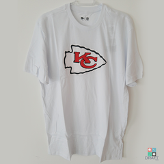 Camisa NFL Kansas City Chiefs New Era Branca Draft Store