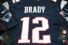 Camisa NFL New England Patriots Tom Brady Nike Game Jersey