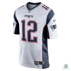Camisa NFL New England Patriots Tom Brady Nike Game Jersey - Away Draft Store