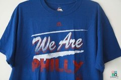 Camisa Majestic NBA Philadelphia 76ers We Are Philly T-Shirt