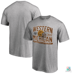 Camisa College Western Michigan Broncos Cotton Bowl Bound Playbook Draft Store