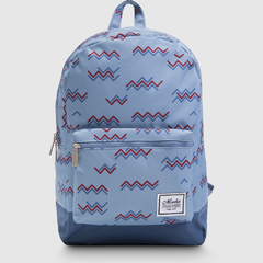 Mochila Classic Dark Blue Denim Weave