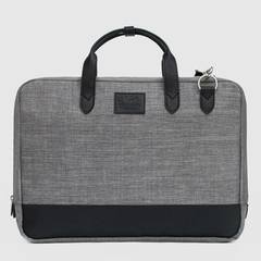 Mooka Chelsy Briefcase, Maletin Lino Gris