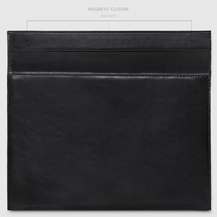 Funda Vienna Magnetic Negro para MacBook - Mooka