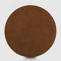Mouse Pad Circular Marrón