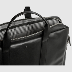 Document Briefcase Black - Mooka