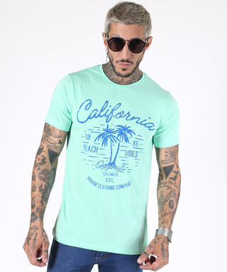 Remera California Agua