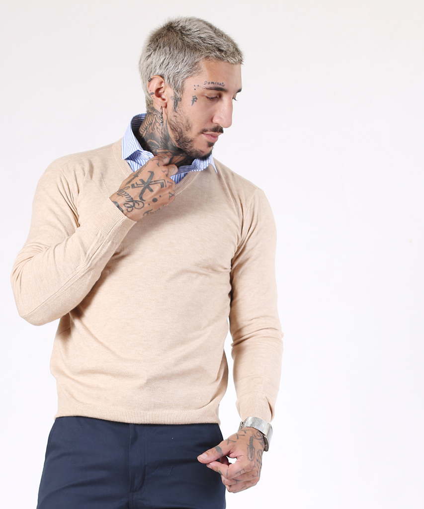Sweater Beige V