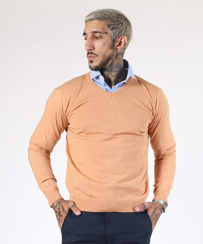 Sweater Camel V